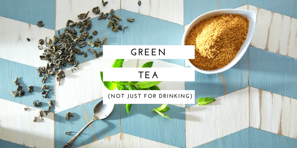 The secret superhero ingredient in green tea which helps treat damaged skin